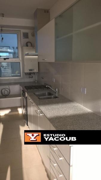 departamento 2 dorm, 2 baños y cochera-terraza privada con parrilla -la plata