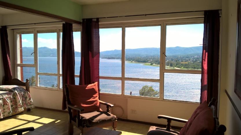 departamento 2 dorm, espectacular vista al lago
