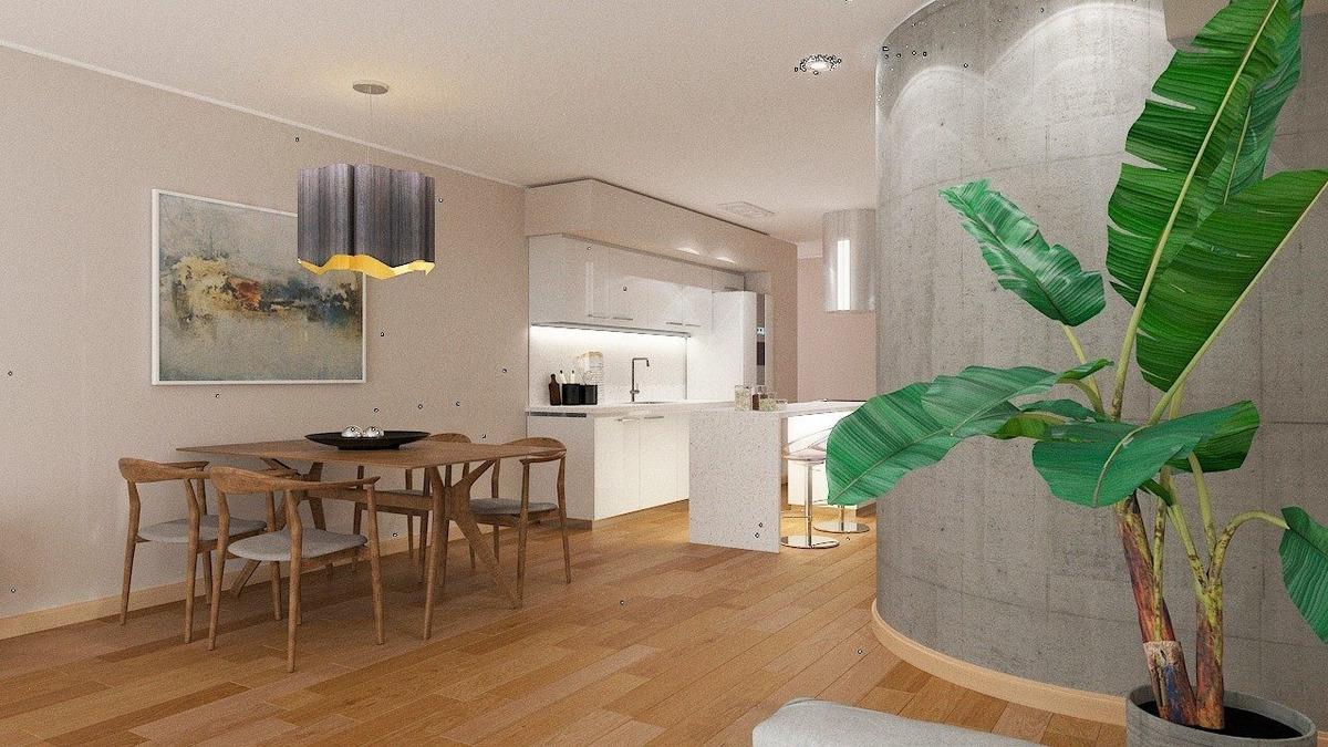 departamento 2 dormitorios / cocina con isla / calidad premium