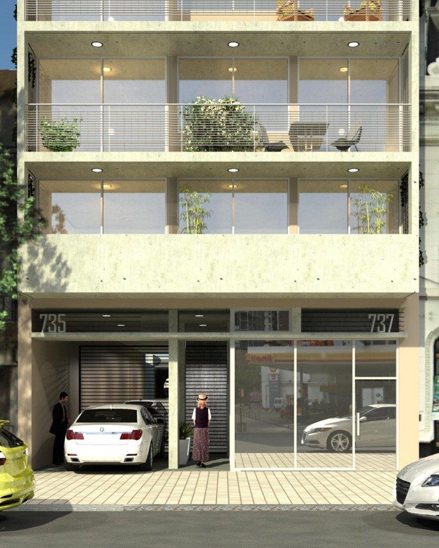 departamento 2 dormitorios con balcon - oportunidad con amplia financiacion / entrega inmediata