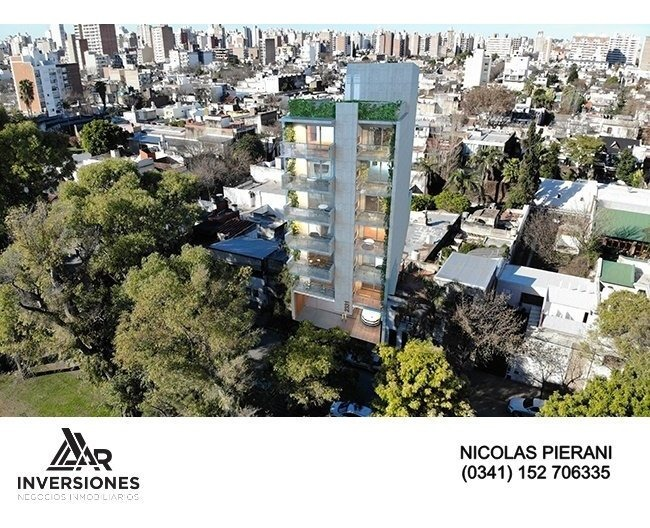 departamento 2 dormitorios con vista al parque independencia - arquitectura moderna - interior minimalista - amenities - financiacion