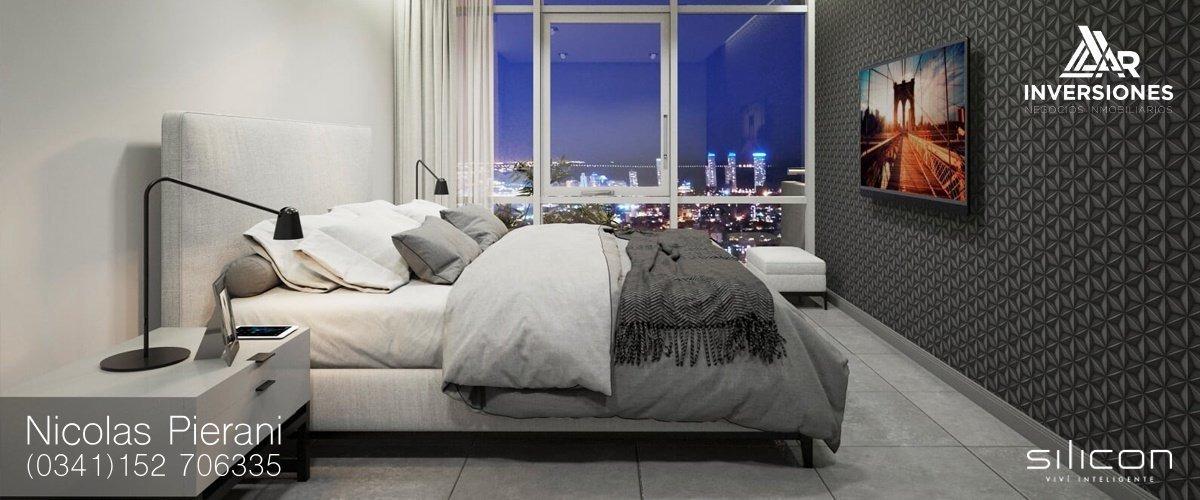 departamento 2 dormitorios en pichincha - edificio inteligente - a estrenar