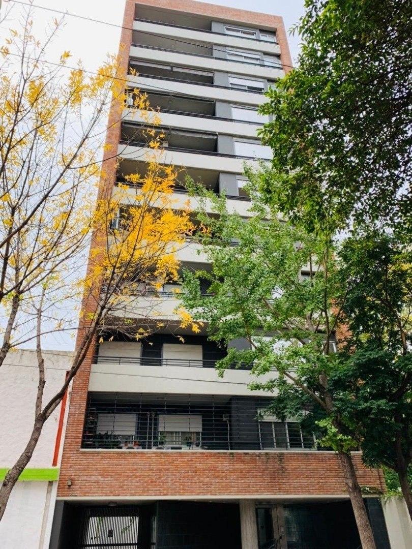 departamento 2 dormitorios maipu 2400. balcón al frente - muy luminoso