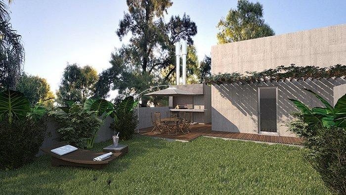 departamento 2 dormitorios - sustentable - terraza verde con amenities