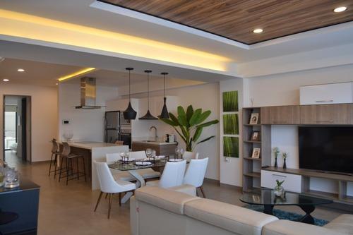 departamento 2 habitaciones en el centro de playa del carmen p1797