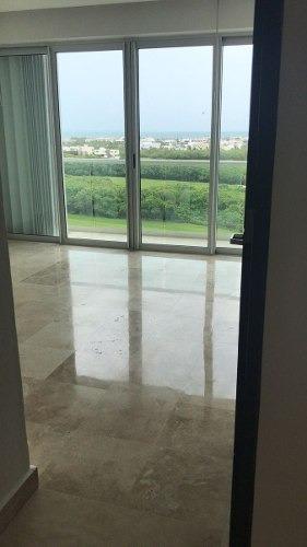 departamento 2 rec. sky  puerto cancún hermosa vista