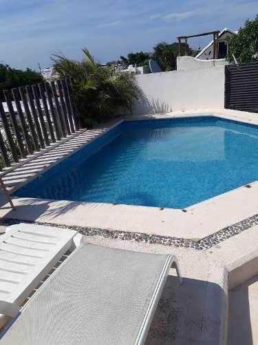 departamento 2 recámaras 2 baños centro playa del carmen p2406