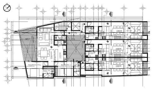 departamento 204 en preventa, 97.08m2, hipódromo condesa con balcón