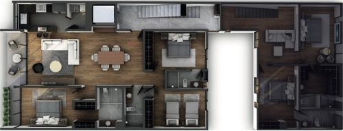 departamento 2a, personalizado, 119m2, narvarte, roof garden y balcón
