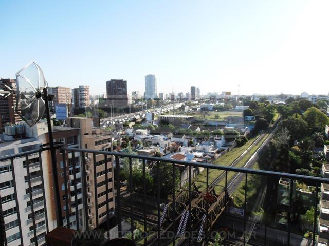 departamento 3 amb c/balcón, amoblado.  oportunidad- barrio vicente lópez