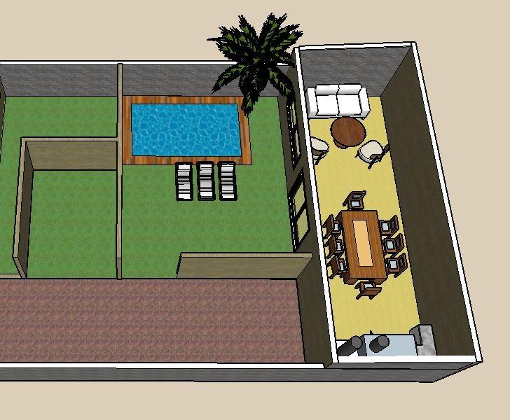 departamento 3 amb, cochera incluida, sum, parque, piscina