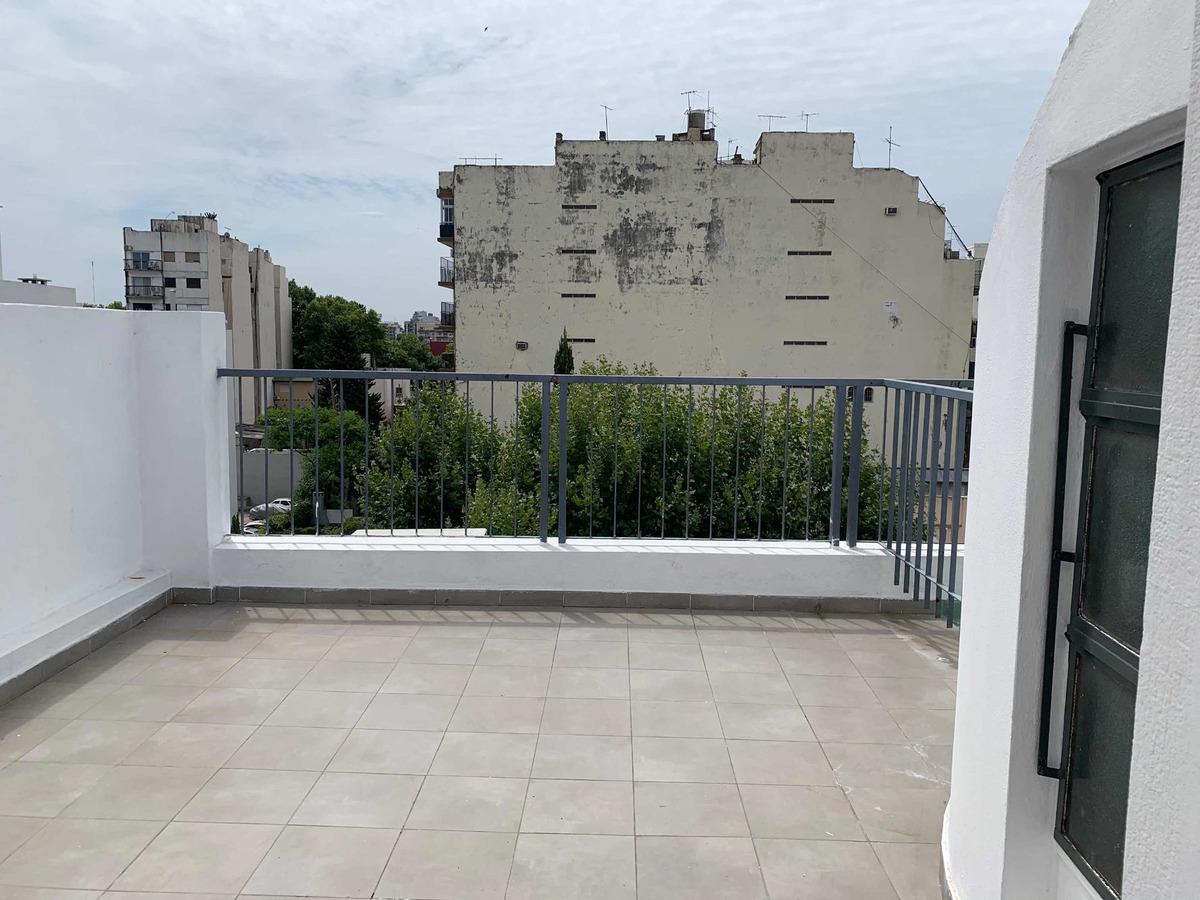 departamento 3 amb con terraza en villa del parque