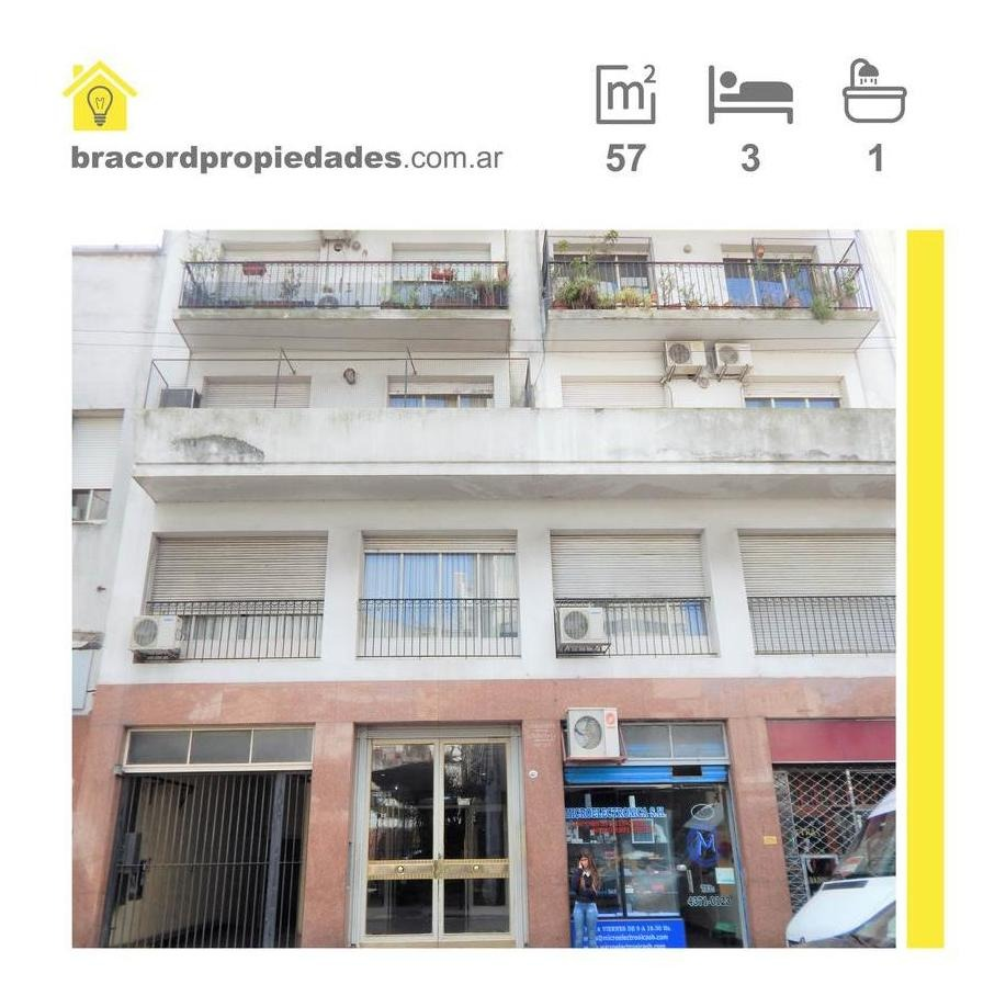 departamento 3 amb ideal oficinas o consultorios- san nicolas