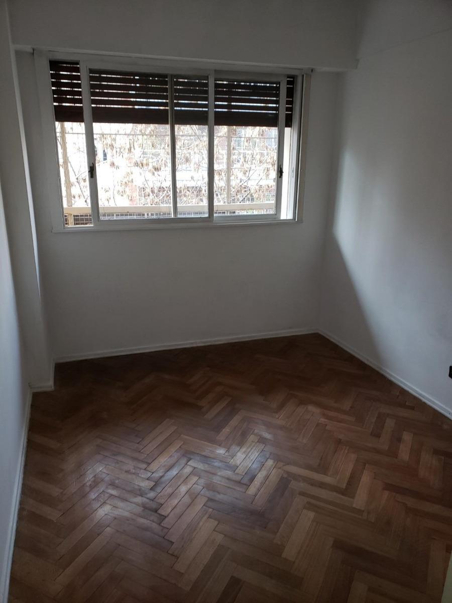 departamento 3 ambientes al frente c/balcón villa urquiza