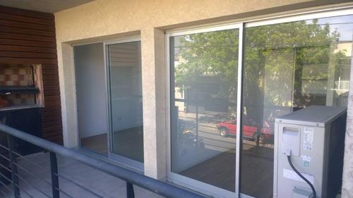 departamento 3 ambientes al frente pisina -gim-sum