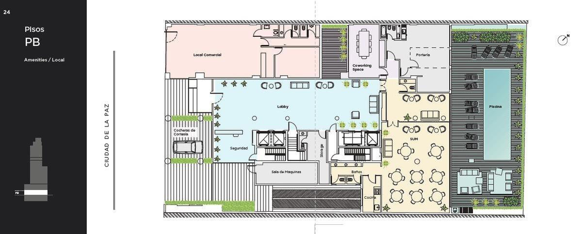 departamento 3 ambientes- belgrano