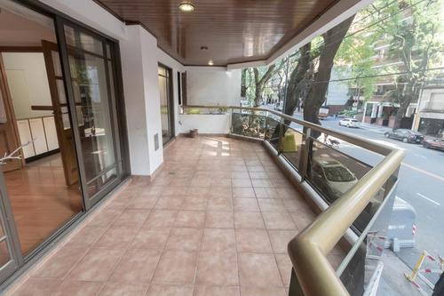 departamento 3 ambientes con balcón en caballito