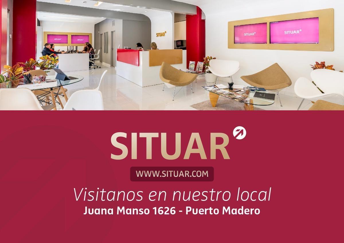 departamento 3 ambientes con cochera y amenities  puerto madero