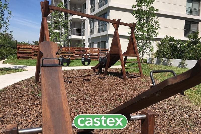 departamento 3 ambientes con jardín arboris la horqueta