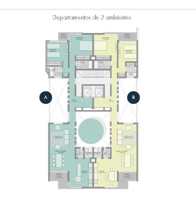 departamento 3 ambientes en emprendimiento en pozo. ideal inversión