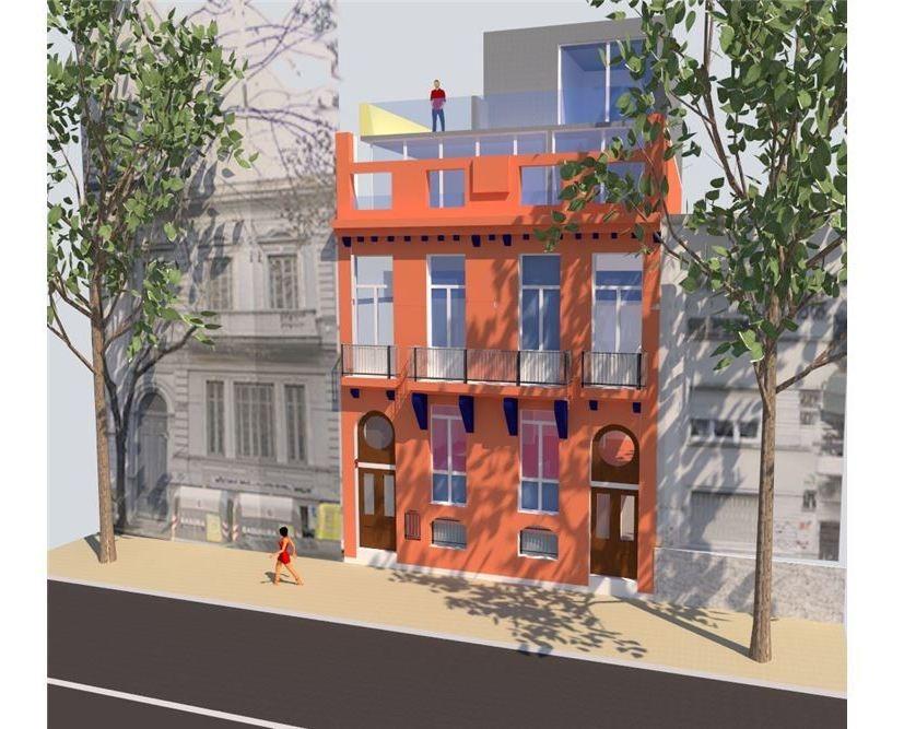 departamento 3 ambientes palermo venta terraza