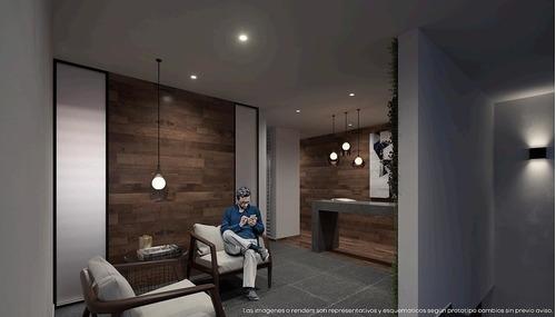 departamento 301 en venta, 87m2, narvarte pte. con balcón