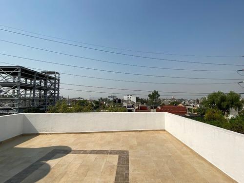 departamento 304, para estrenar en av. del peñón, con roof garden