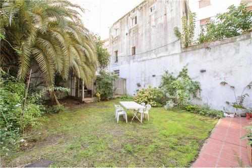 departamento 4 amb. con jardin. opcional cochera