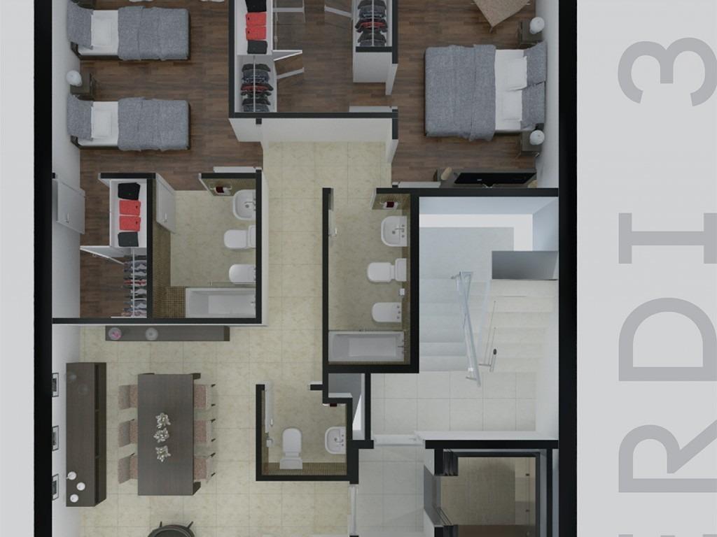 departamento 4 ambientes en pozo