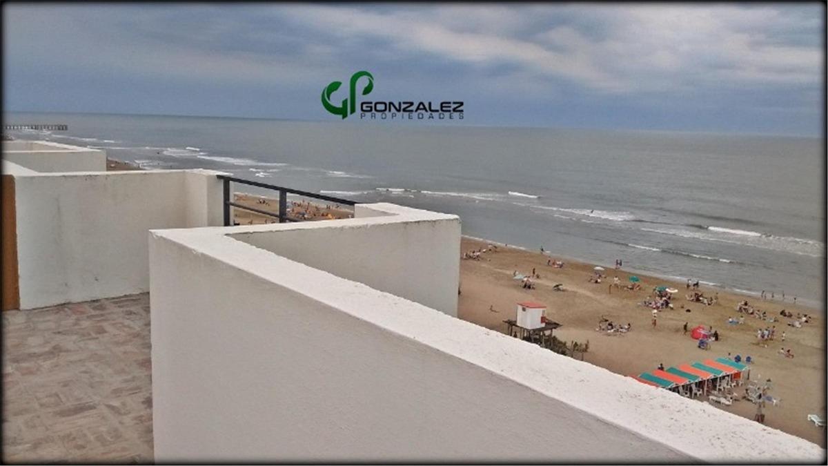 departamento 4 ambientes frente al mar