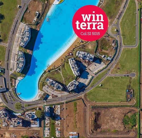 departamento 4 ambientes lagoon pilar -sector plaza-