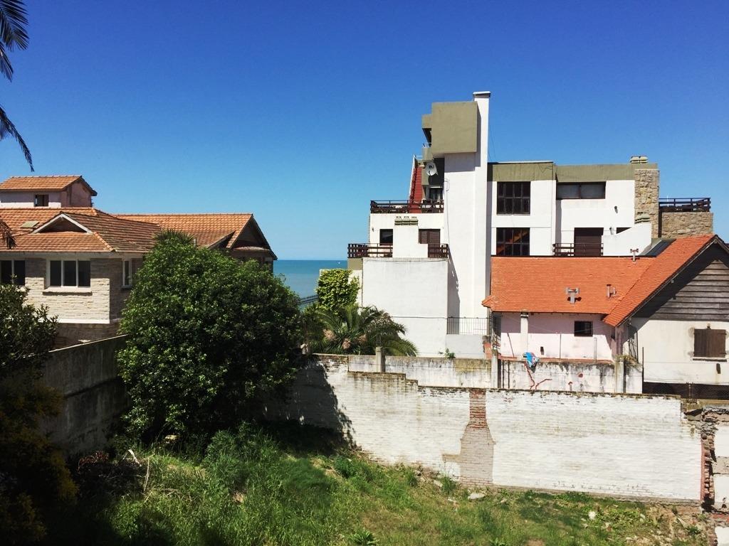 departamento 4 ambientes vista al mar con cochera doble. zona santa cecilia.