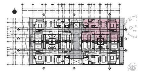 departamento 504, en preventa en vértiz narvarte con terraza con balcón