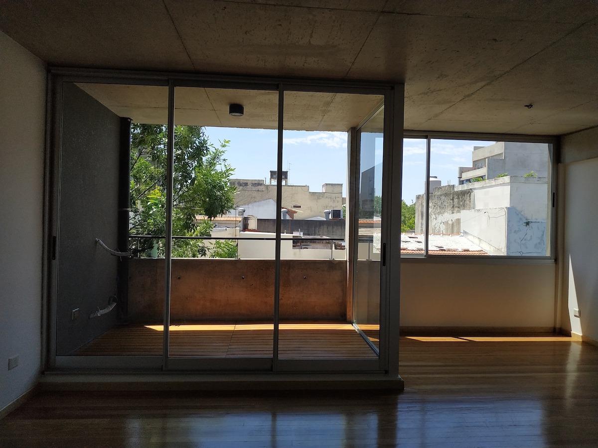 departamento a estrenar, dos ambientes con balcón al frente