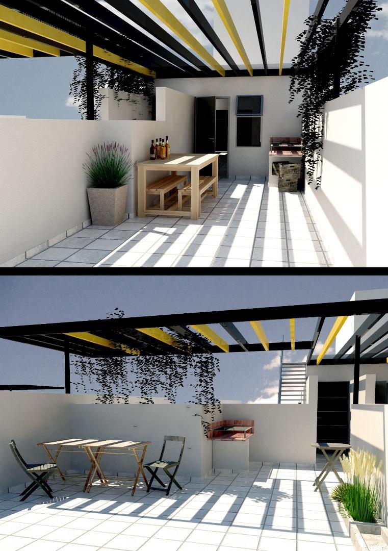 departamento a estrenar zona universitaria - 1 dormitorio con patio privado