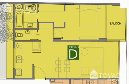 departamento a la venta en san telmo! barrancas de madero - 2 ambientes - paseo colon 1400