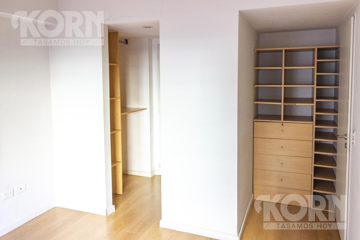 departamento al frente en venta dos dormitorios con cochera en palermo - amenities