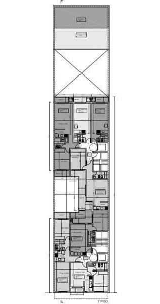 departamento al pozo en venta 1 dormitorio al frente ventilacion cruzada - rosario centro