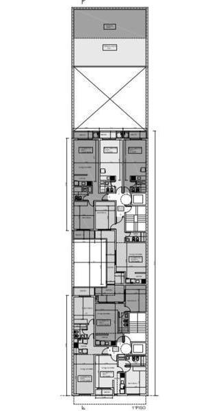 departamento al pozo en venta 1 dormitorio contrafrente - rosario centro