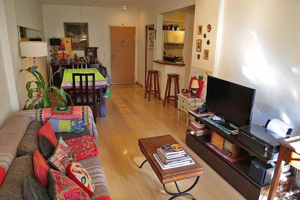 departamento - almagro - tres ambientes impecable con sum, laundry y cochera!