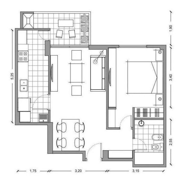 departamento - alquiler - 2 ambientes - olivos - vicente lop