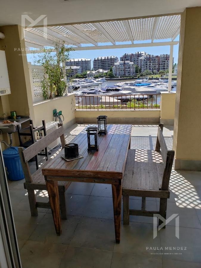 departamento - alquiler - 2 ambientes - terrazas de la bahia - nordelta - tigre