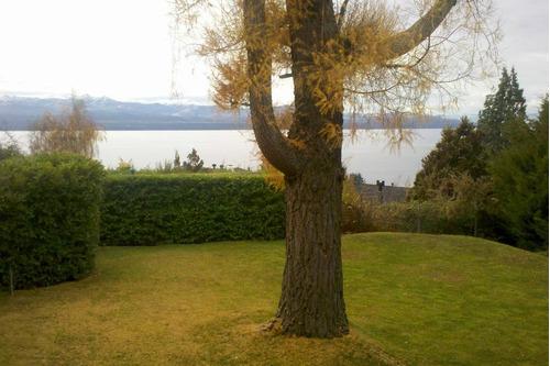 departamento alquiler temporario bariloche 2p. vista al lago