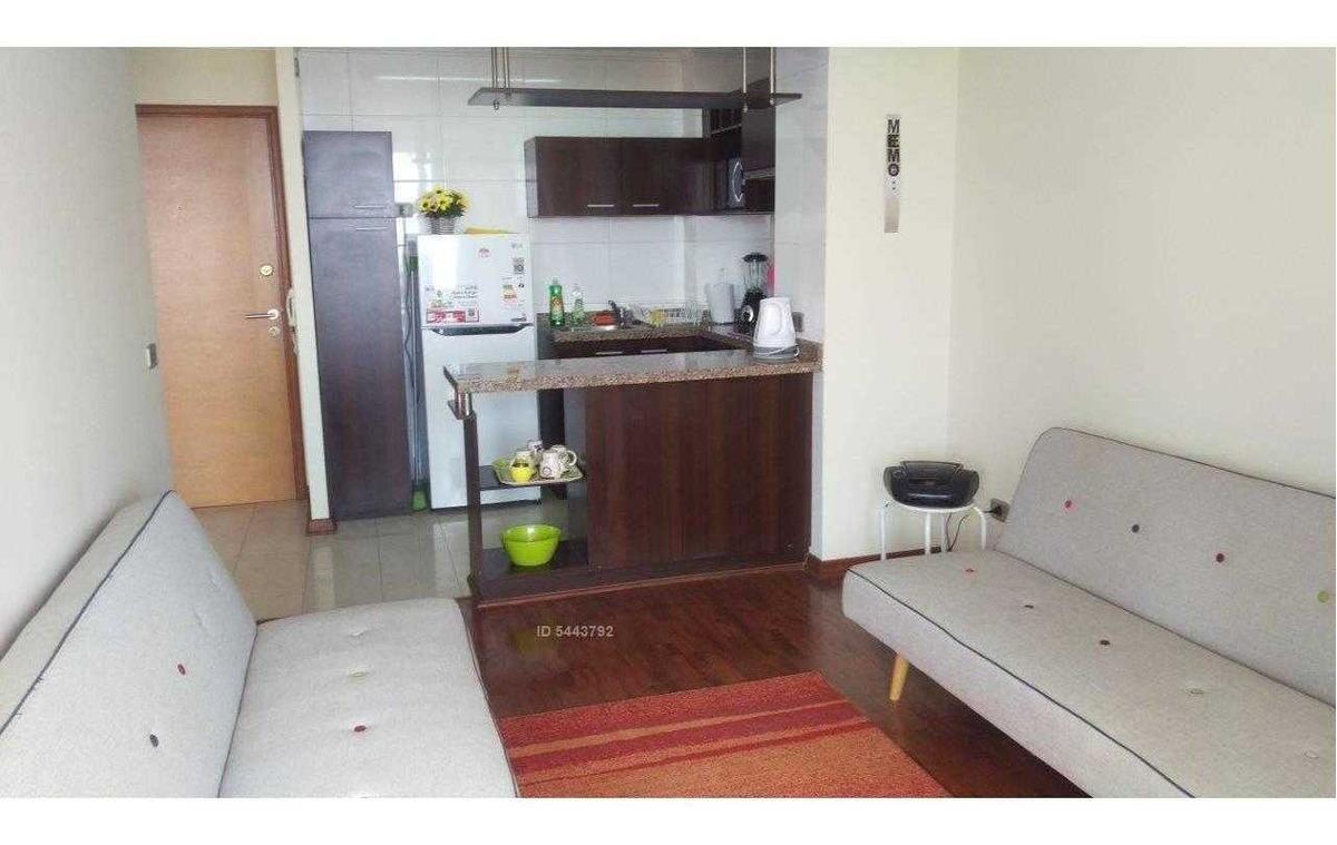 departamento amoblado 1 habitación amplio, concón