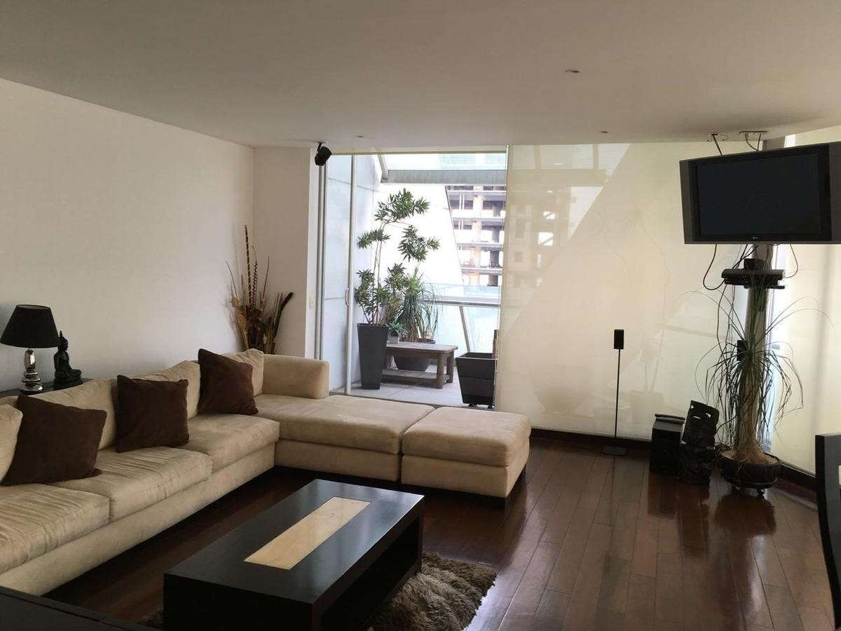 departamento amoblado 3 habitaciones , 3 1/2 banos, terraza