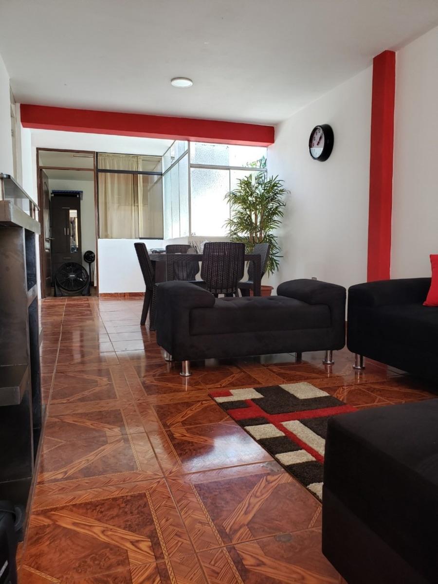 departamento amoblado a1 en surco 85 m2