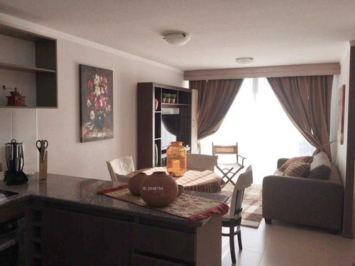 departamento amoblado gastos comunes incluidos 2 dormitorios+ 1 baño+ cocina amoblada+ terraza+ estacionamiento