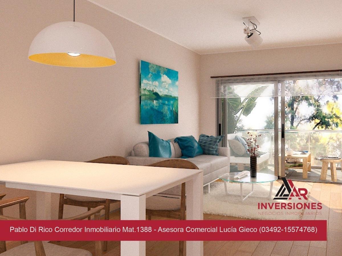 departamento amplio de 2 dormitorios!! calidad constructiva - financiación - al pozo!