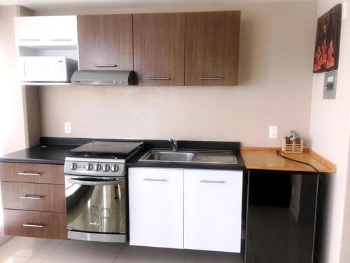 departamento amueblado en renta en exclusivo residencial p