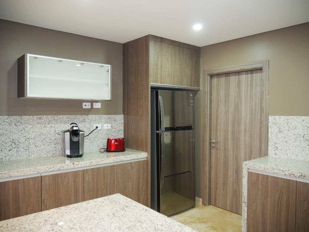 departamento amueblado en renta en torre onix 2201,  175 m2 en new city residencial, tijuana b.c.